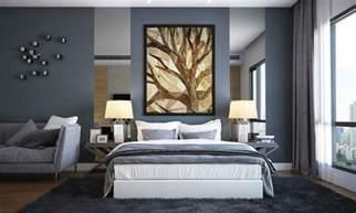 schlafzimmer dachschrge grau braun wandfarbe grau kombinieren 55 deko ideen und tipps