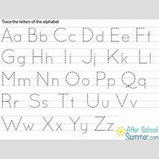 Printable Traceable Alphabet Chart For Upper And Lower Case  Google Search  Harshil Tracing