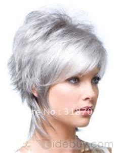21 best images about Silver Hair on Pinterest   Twa