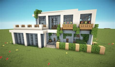 Modernes Haus Minecraft Lars by Villa Minecraft Modernes Haus Tricks Minecraft