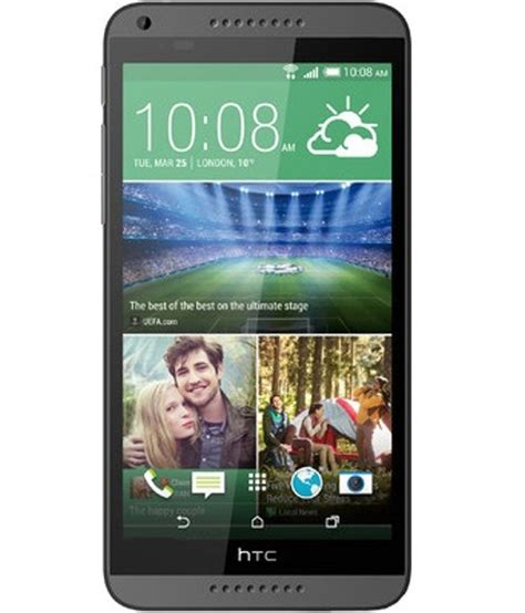 3g Mobile by Htc Desire 816 Dual Sim 3g Mobile Phone Grey Mobile