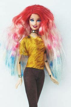 Cool Hairstyles For Barbies by 1000 Images About Haired Barbies Cool Not To