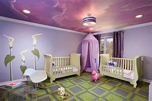 Tapeten Für Babyzimmer : lila tapete 48 interessante ideen ~ Sanjose-hotels-ca.com Haus und Dekorationen