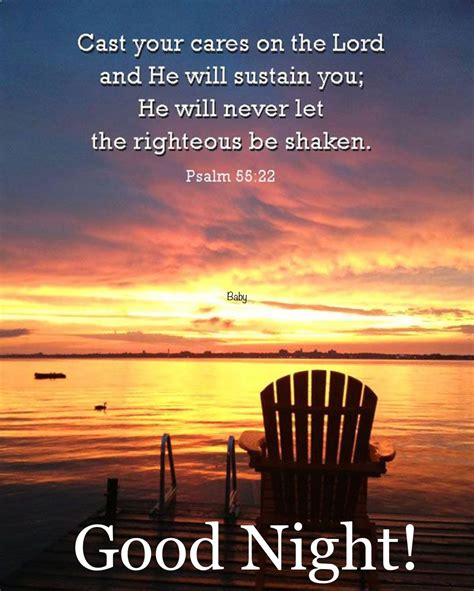 Good night bible verse quotes. Pin on GREETINGS