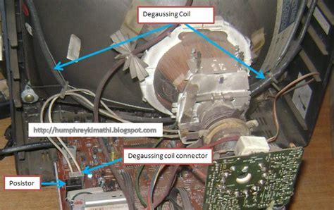 electronics repair  easy understanding  degaussing