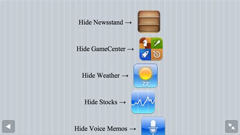 hide apps in iphone hide apps on the iphone without an ios 6 jailbreak