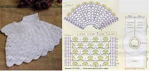 Crochet  Patr U00f3n De Vestido Para Ni U00f1a        Imagui
