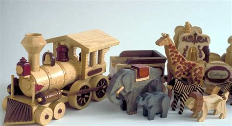 circus train woodworking plan fun whymsical project
