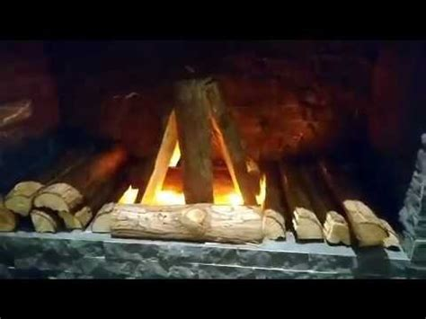 DIY Fireplace with three of LED Flicker Flame Light Bulb