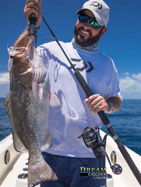 grouper fishing key west season catcher capt charters dream tasty holds brian nice truck fire reef keys