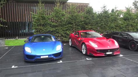 Ηλεκτρικό μοντέλο καταστράφηκε ολοσχερώς βγάζοντας. Ferrari 812 Superfast VS Lamborghini Aventador S - CAR review - YouTube