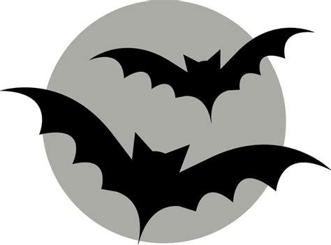 bats flying  moon pumpkin template holiday hour