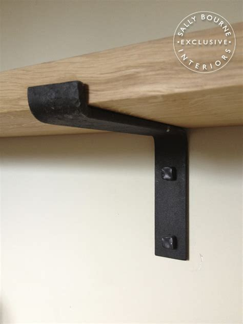 simple shelf brackets wrought iron bracket