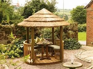 Gartenlauben Aus Holz : gartenlaube aus holz der gartenpavillon wird zum blickfang ~ Watch28wear.com Haus und Dekorationen