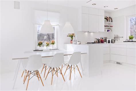 cocina blanca las  cocinas blancas modernas   bonitas