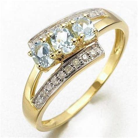 women s anniversary size 6 7 8 9 rare aquamarine 10k gold