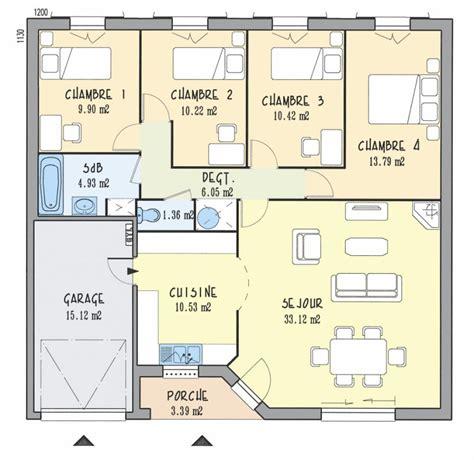 Plan De Maison 5 Pieces
