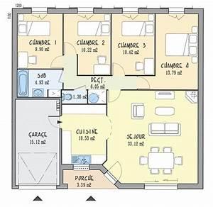 plan de maison 5 pieces choosewellco With plan de maison 2 pieces