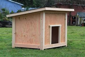 Large Dog House Plan #2 Dog house plans, Dog houses and