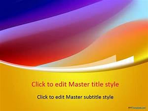 Free, Dress, Color, Ppt, Template