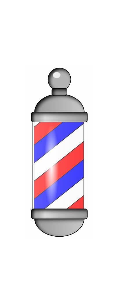 Barber Pole Clip Clipart Barbershop Sign Signs
