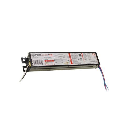 ge ge260is mv n electronic fluorescent ballast 2 lamp