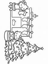 Coloring Pages Christmas Chimneys Printable sketch template