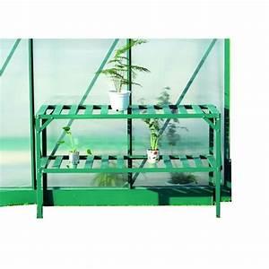 Etagere Pour Serre : etagere pour serre de jardin achat vente etagere pour ~ Premium-room.com Idées de Décoration