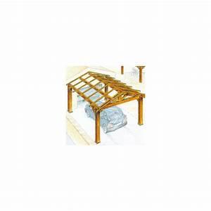 Charpente Traditionnelle Bois En Kit : charpente bois en kit abri de voiture ~ Premium-room.com Idées de Décoration