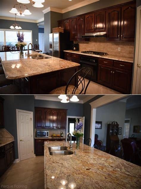 beautiful traditional kitchen  exotic granite