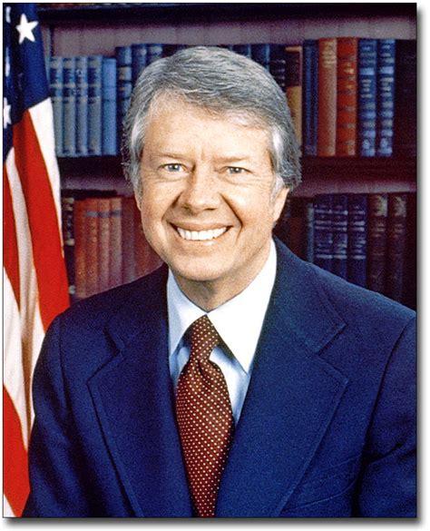 U.S. PRESIDENT JIMMY CARTER PORTRAIT 11x14 SILVER HALIDE ...