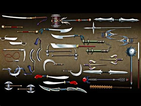 shadow fight 2 all weapons part 2