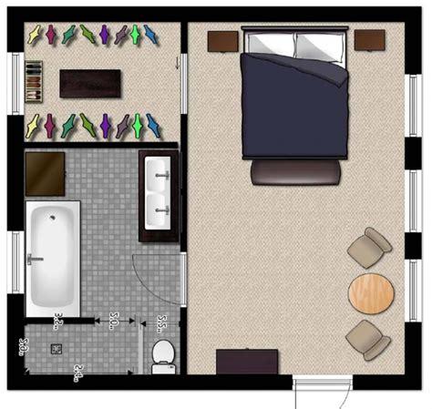 Master Bedroom With Bathroom Floor Plans  Fresh Bedrooms