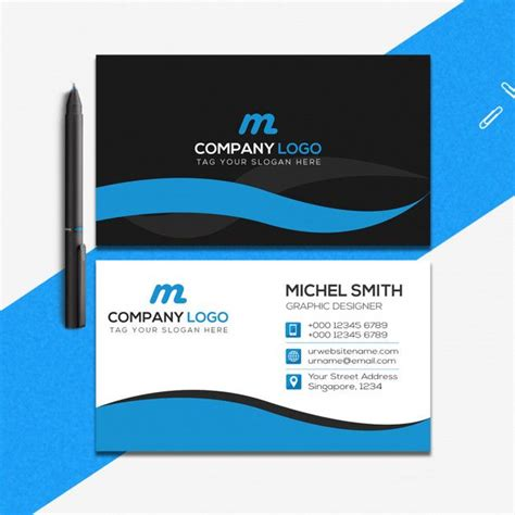 creative business card template  images business