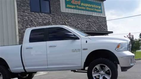 Ram 1500 with 6 inch Rough Country Lift   YouTube