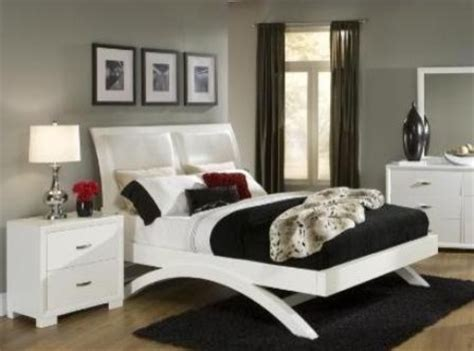astrid white queen bed frame modern beds toronto