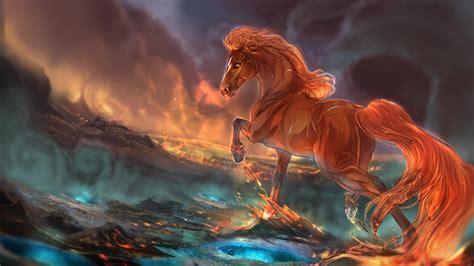Fantasy Horse Unicorn Sea 2K - Free Live Wallpaper - Live ...