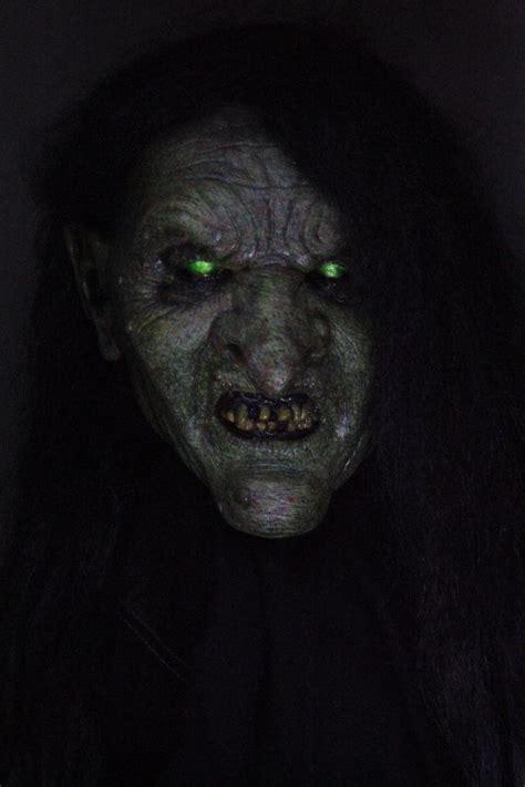 la bruja full head halloween witch prop