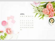 April Calendar Desktop Wallpaper Free Download
