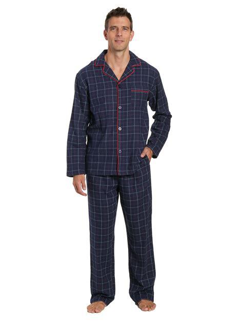 s 100 cotton flannel pajama set noble mount