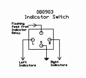 steering column mounted switch With indicator stalk wiring diagram