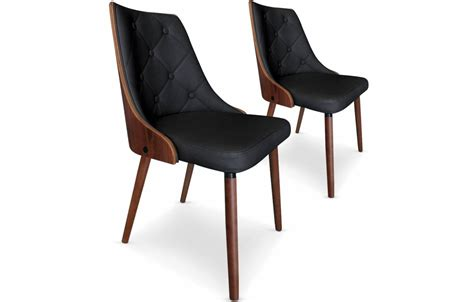 chaise simili cuir chaise bois et cuir atlub com