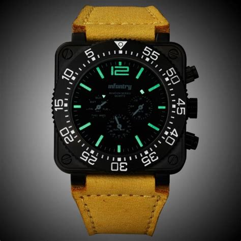 bureau suisse montres infantry aviation series