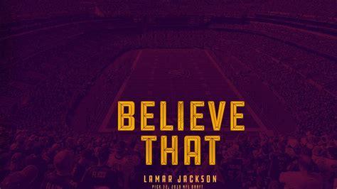 lamar jackson   sprint football field purple