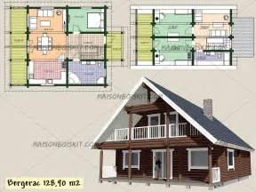 plan de maison chalet