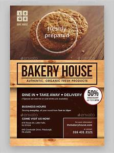 Free Template For Flyer 24 Bakery Flyers Templates Indesign Psd Publisher Ms