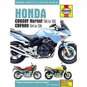Workshop Manual Honda Cb600f  Fs Hornet 98