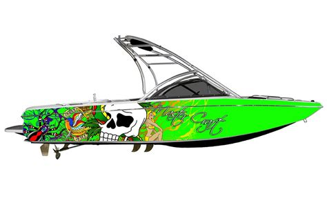 Custom Boat Decals by Custom Boat Graphics Wraps Car Interior Design