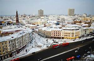 Winter Kazan from bird's eye view · Russia travel blog