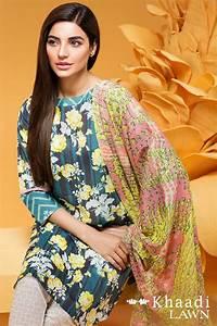 Khaadi Stylish Summer Lawn Dresses Collection 2016